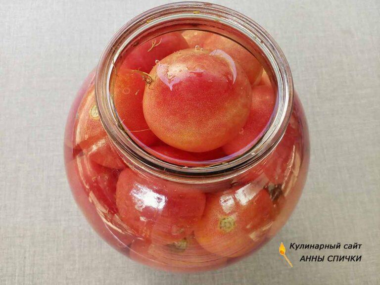 Квашеные помидоры как из бочки