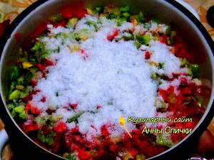 Простая заготовка - соленый перец на зиму