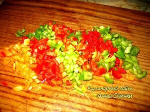 Как приготовить болгарский перец с солью