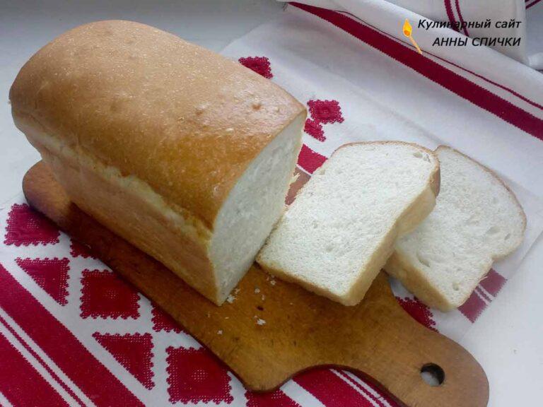 Хлеб в хлебопечке без яиц без молока