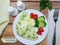 Как готовится омлет с молоком