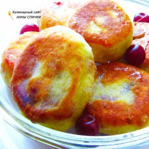 жаренные пирожки с виней тесто на кефире