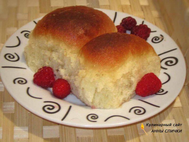 Пирожки с малиной