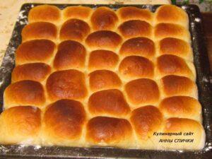 Пирожки с малиной готовы