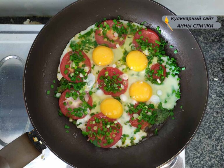 Выбиваем яйца
