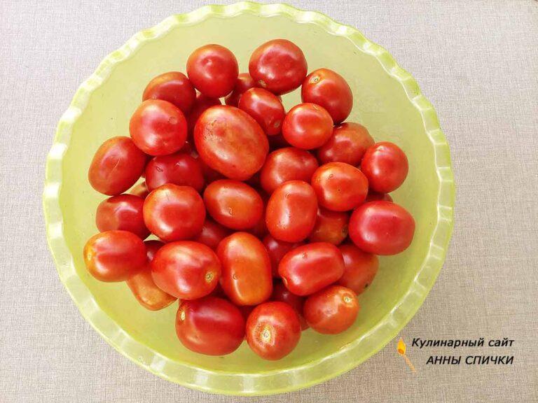 Лучший рецепт консервирования помидор сливок
