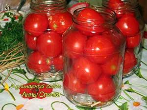 Как консервировать помидоры в собственном соку