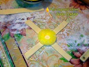 Готовим ананасы в слоеном тесте
