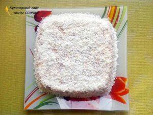 Холодный торт из крекера