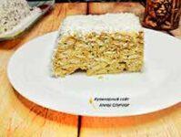 Вкусный торт из крекера без выпечки