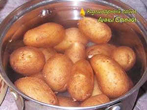 Варим картофель в мундире