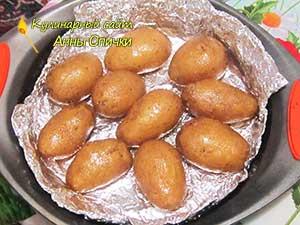 Как запечь картофель в мундире