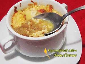 Как приготовить луковый суп - шаг 7