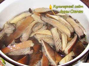 Как приготовить грибы по-корейски - шаг 1