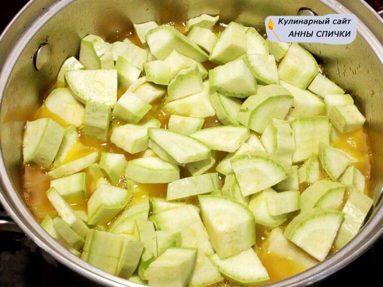 Суп пюре из кабачков без бульона