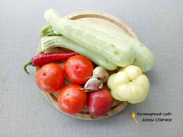 Рецепт консервированных кабачков в томатном соусе