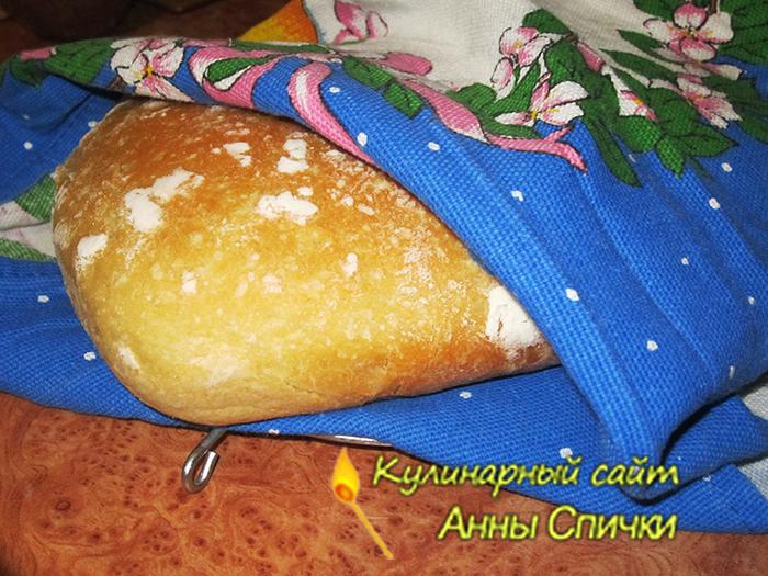 Готовый домашний хлеб
