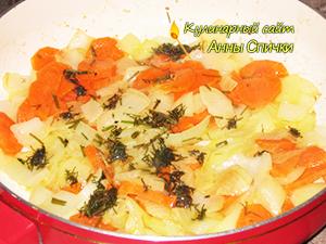 Как приготовить капусту с рисом