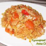 Капуста с рисом «лаханоризо»