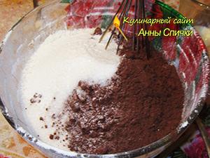 Как испечь шоколадный пирог
