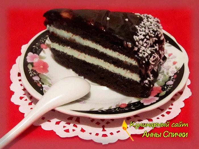 Торт на молоке на скорую руку
