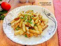 Жареный корень сельдерея вкусный ПП рецепт