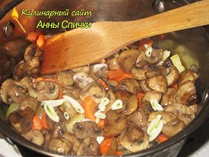 Как приготовить рагу с грибами