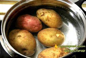 Рецепт картошки в мундире