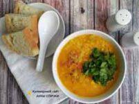Постный турецкий чечевичный суп