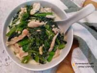 Курица со шпинатом ПП рецепт