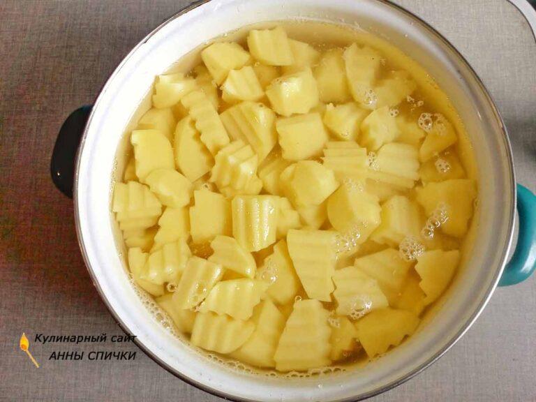 Картофельный соус рецепт