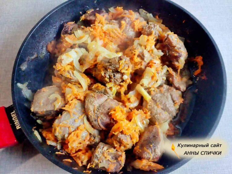 Утка для картофельного соуса готова