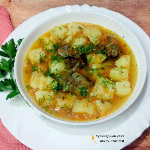 Картофельный соус с уткой рецепт