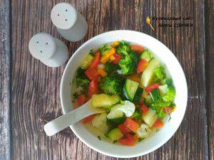 Диетический овощной суп ПП