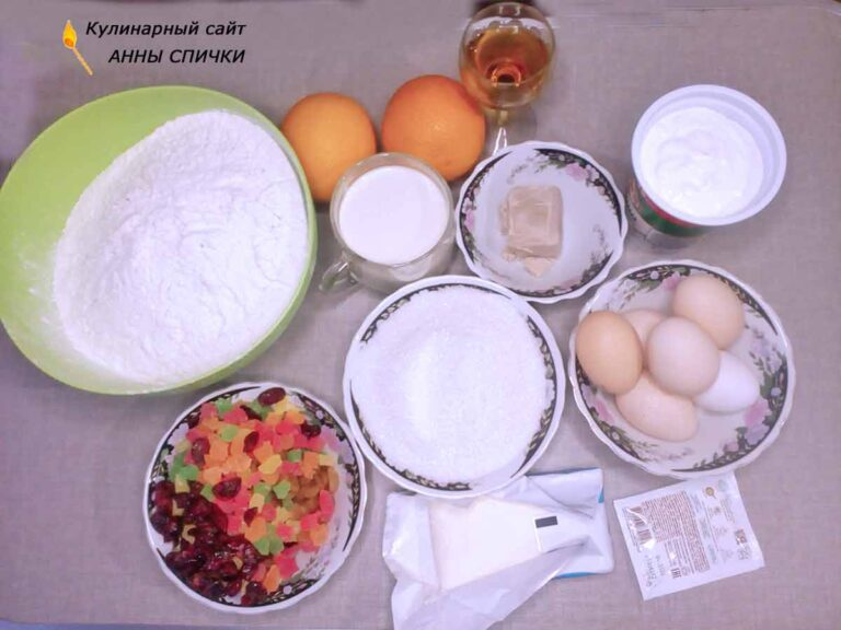 Как приготовить вкусный кулич