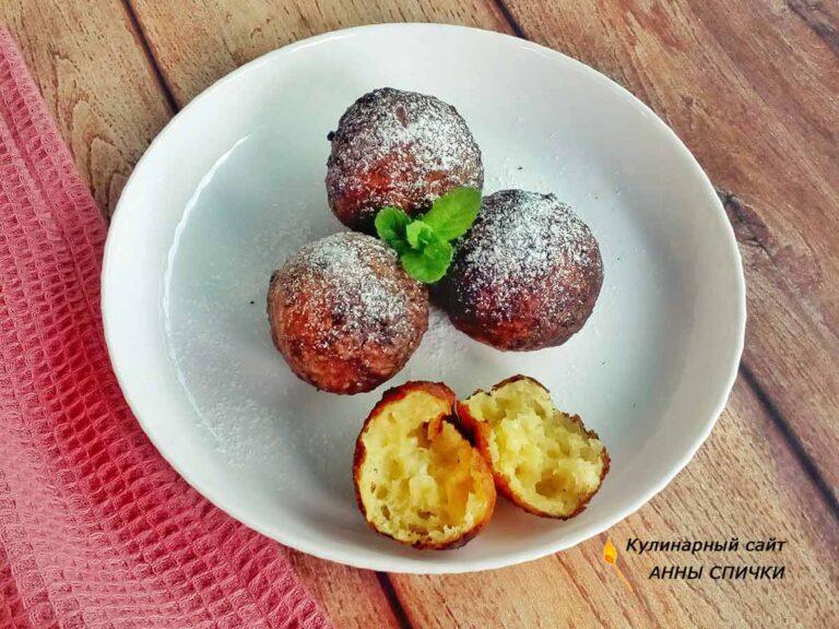 Творожные шарики во фритюре как готовить