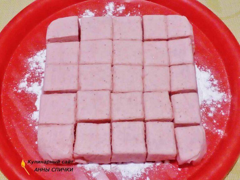 Десерт из клубники с желатином