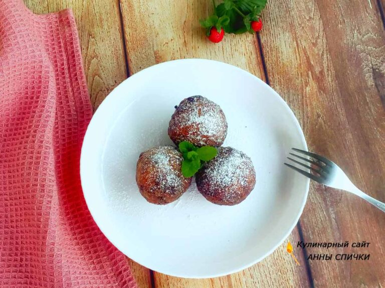 Творожные пончики простой рецепт