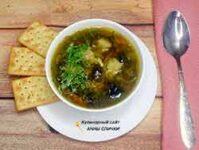 Вкусный суп с подберезовиками
