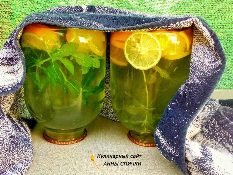 Как приготовить напиток мохито на зиму