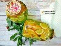 Мохито с апельсином на зиму